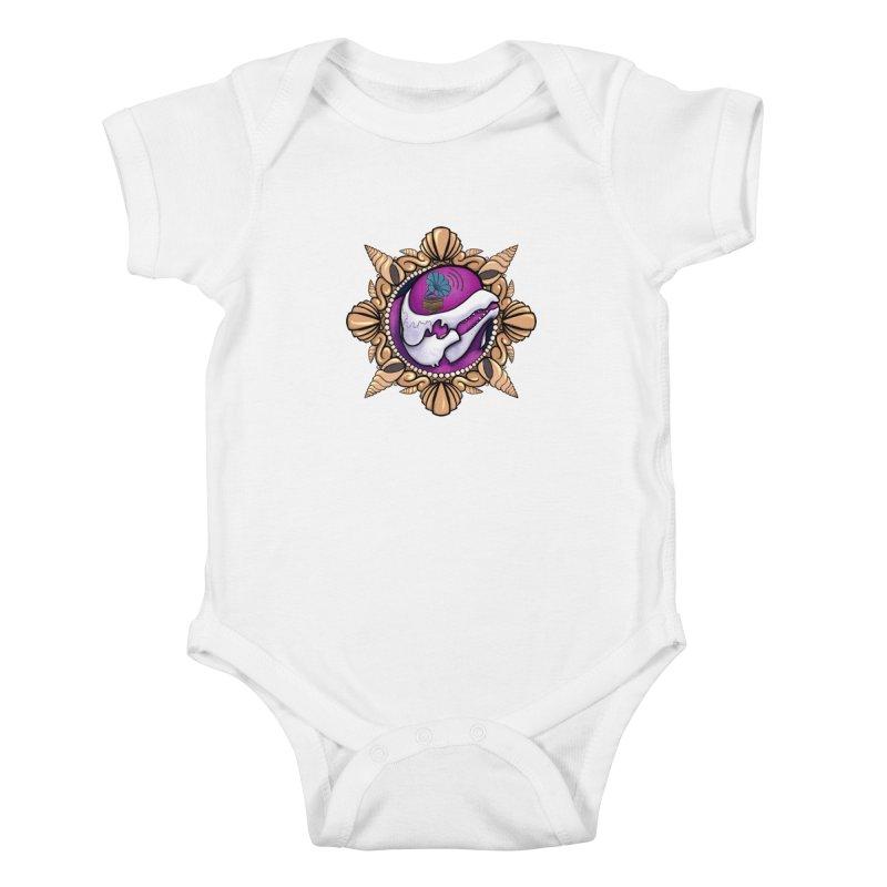 Analog Beluga Kids Baby Bodysuit by Babedrienne's Artist Shop
