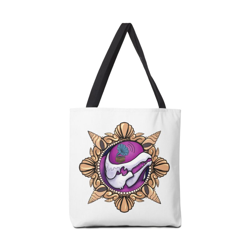 Analog Beluga Accessories Tote Bag Bag by Babedrienne's Artist Shop