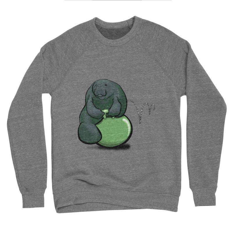 Bouncy Ball Manatee Women's Sponge Fleece Sweatshirt by Babedrienne's Artist Shop