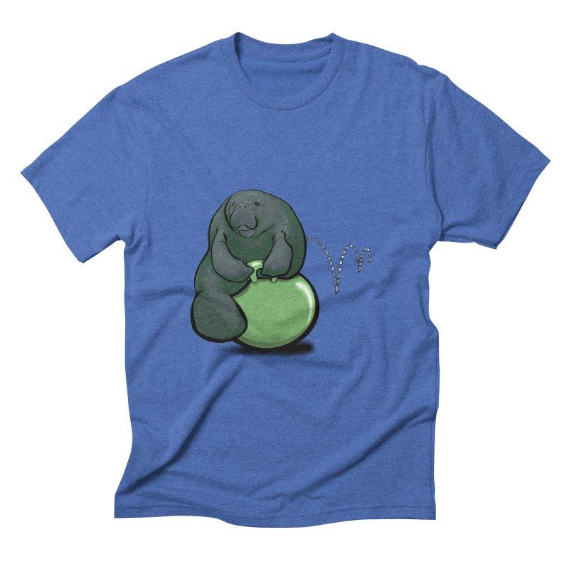 Bouncy Ball Manatee Men's T-Shirt by Babedrienne's Artist Shop
