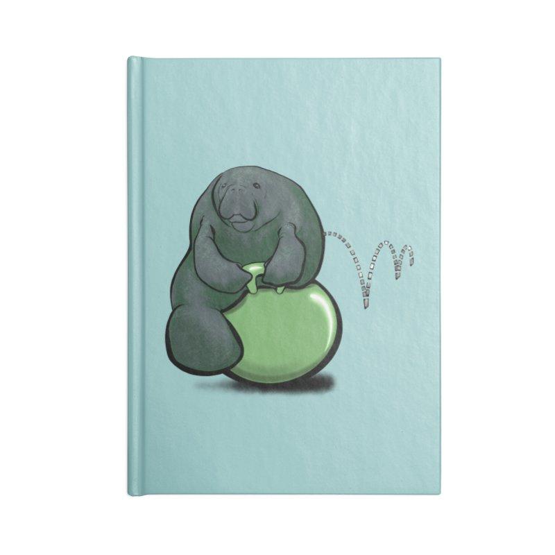 Bouncy Ball Manatee Accessories Blank Journal Notebook by Babedrienne's Artist Shop