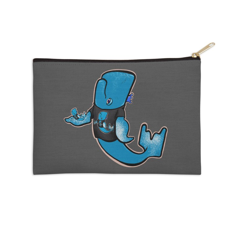 Whale Inception Accessories Zip Pouch by Babedrienne's Artist Shop