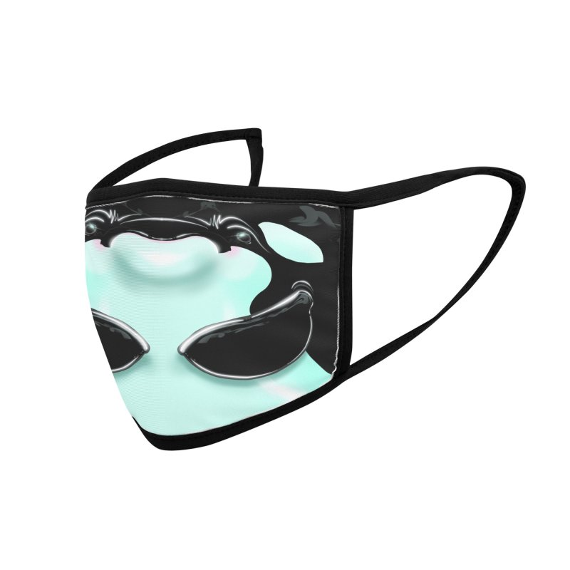 Orca Mask Accessories Face Mask by Babedrienne's Artist Shop