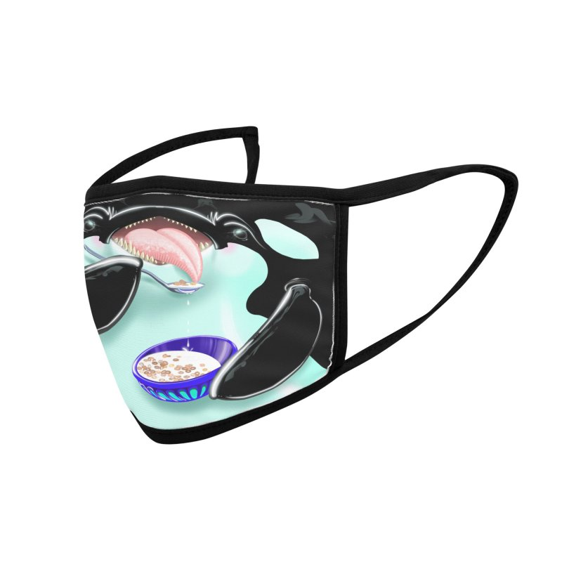 Cereal Killer Whale Accessories Face Mask by Babedrienne's Artist Shop