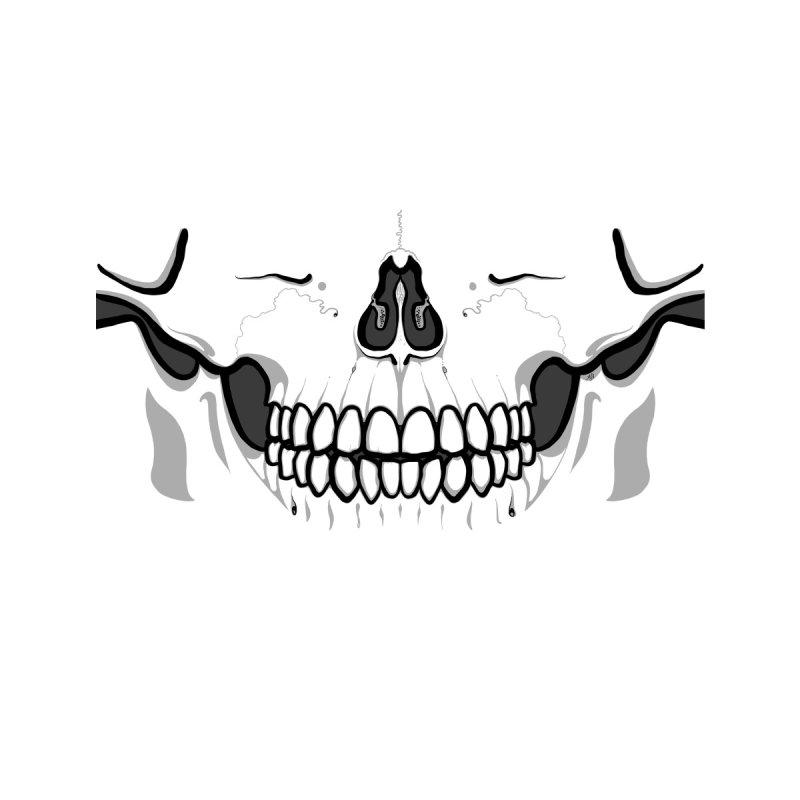Babedrienne's Bones OG Skull Accessories Face Mask by Babedrienne's Artist Shop
