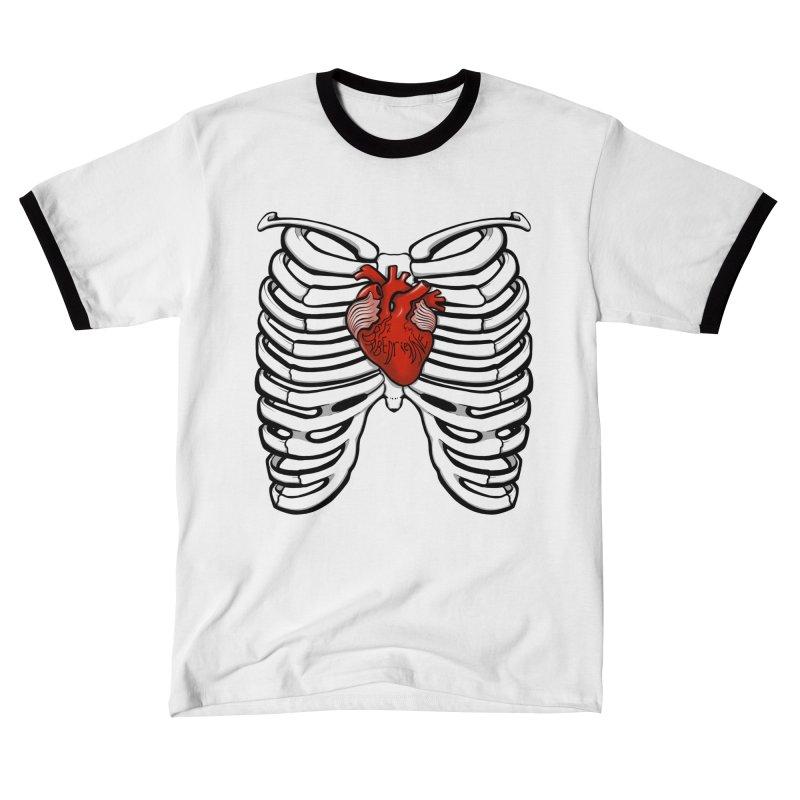 Babedrienne's Bones Ribcage Men's T-Shirt by Babedrienne's Artist Shop