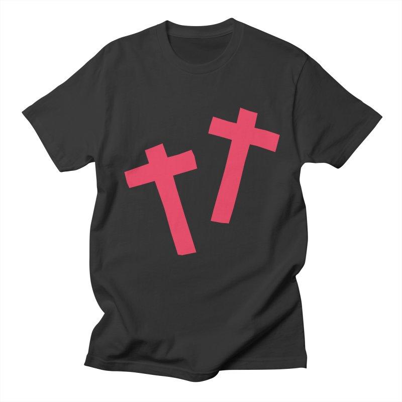 †† Men's T-Shirt by †  B A C Ŧ E R I A  †