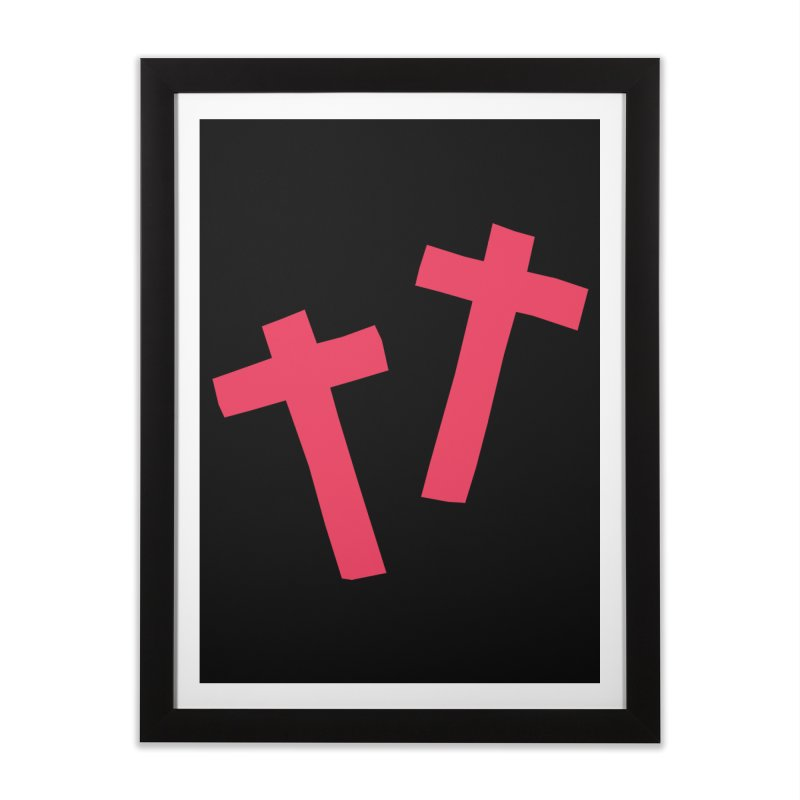 †† Home Framed Fine Art Print by †  B A C Ŧ E R I A  †