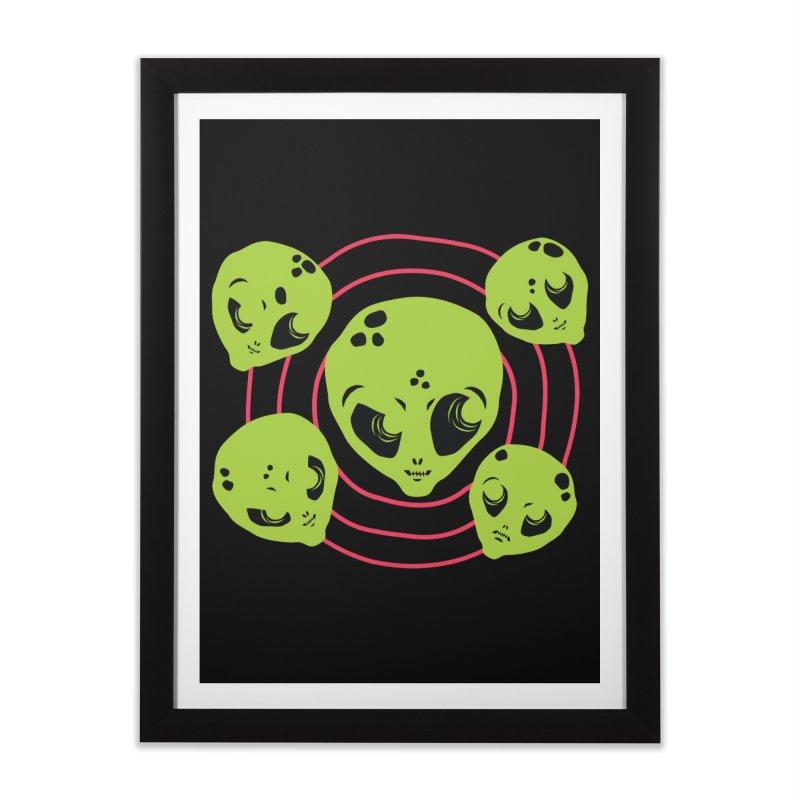 Galaxy Boys Home Framed Fine Art Print by †  B A C Ŧ E R I A  †
