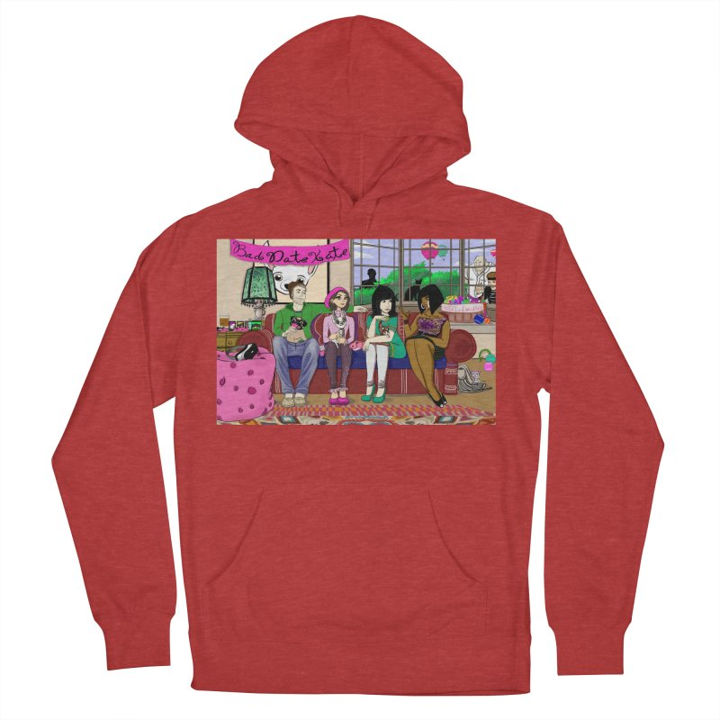 Bad Date Kate Animated Series Women's Pullover Hoody by Bad Date Kate's Artist Shop