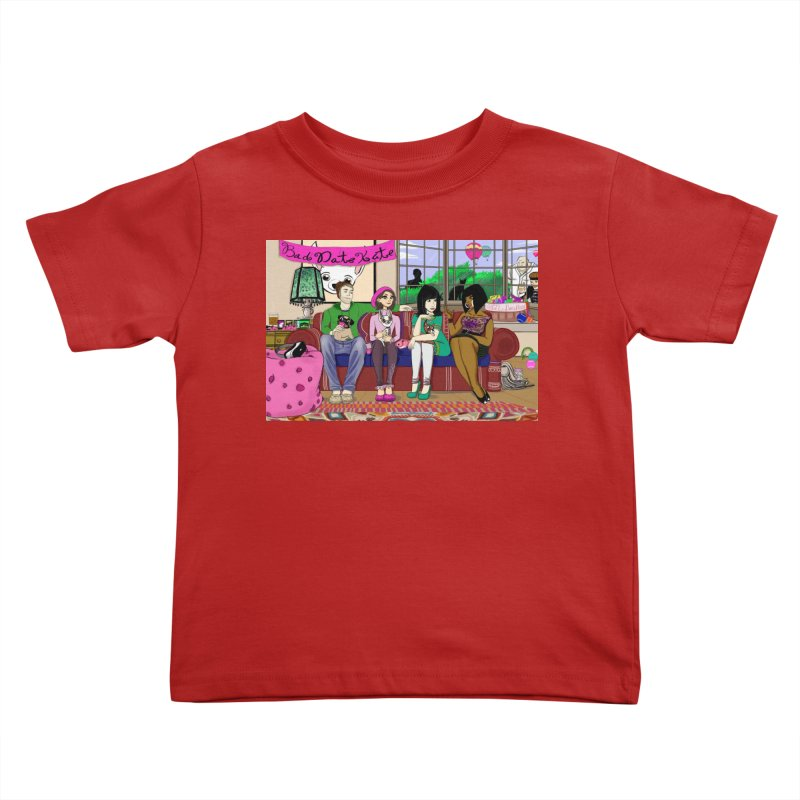 Bad Date Kate Animated Series Kids Toddler T-Shirt by Bad Date Kate's Artist Shop
