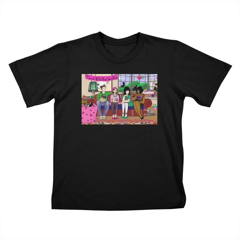 Bad Date Kate Animated Series Kids T-Shirt by Bad Date Kate's Artist Shop