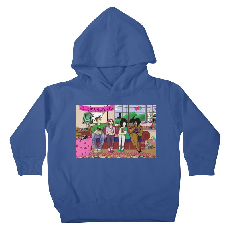 Bad Date Kate Animated Series Kids Toddler Pullover Hoody by Bad Date Kate's Artist Shop