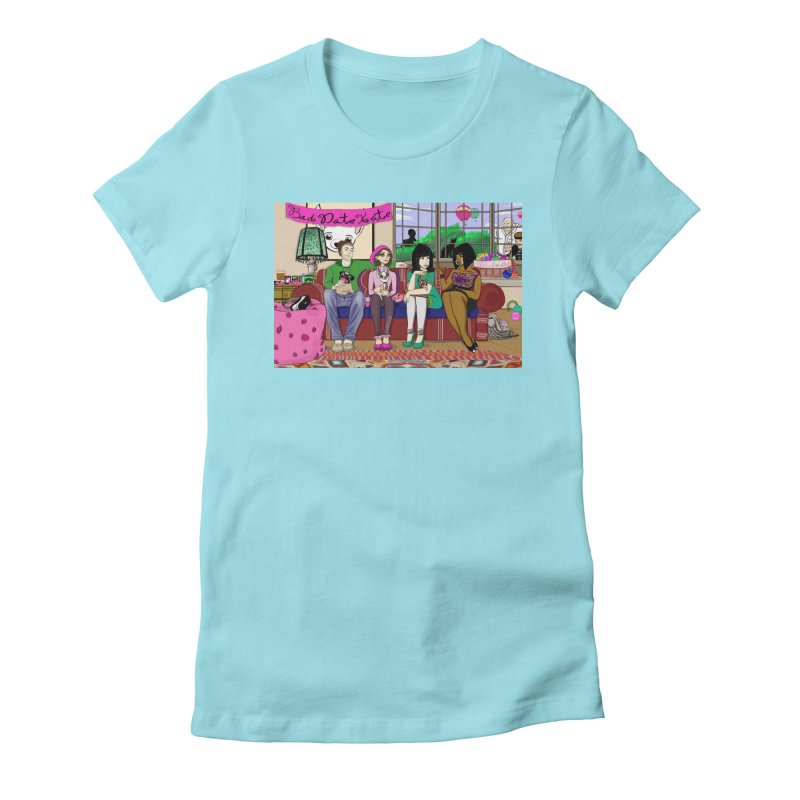 Bad Date Kate Animated Series Women's Fitted T-Shirt by Bad Date Kate's Artist Shop