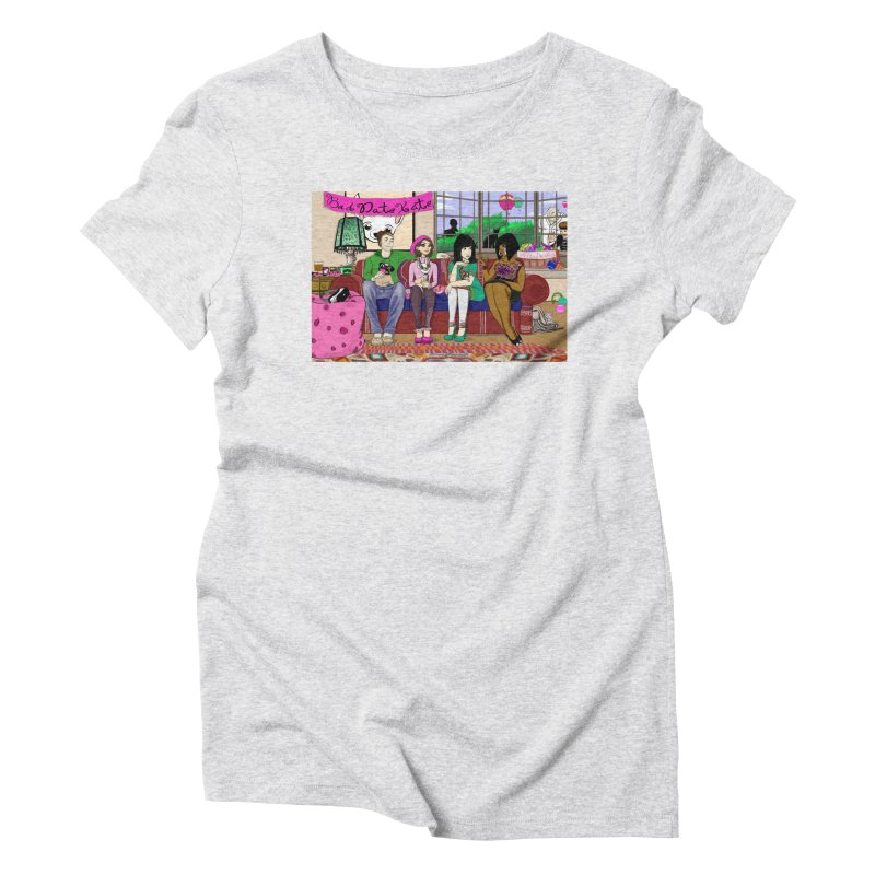 Bad Date Kate Animated Series Women's Triblend T-Shirt by Bad Date Kate's Artist Shop