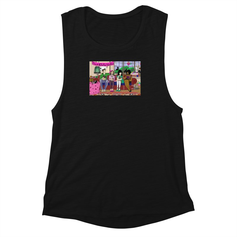 Bad Date Kate Animated Series Women's Muscle Tank by Bad Date Kate's Artist Shop