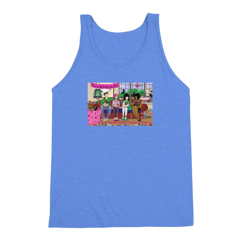 Bad Date Kate Animated Series Men's Triblend Tank by Bad Date Kate's Artist Shop