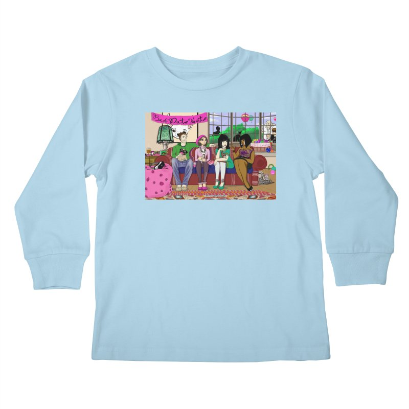 Bad Date Kate Animated Series Kids Longsleeve T-Shirt by Bad Date Kate's Artist Shop