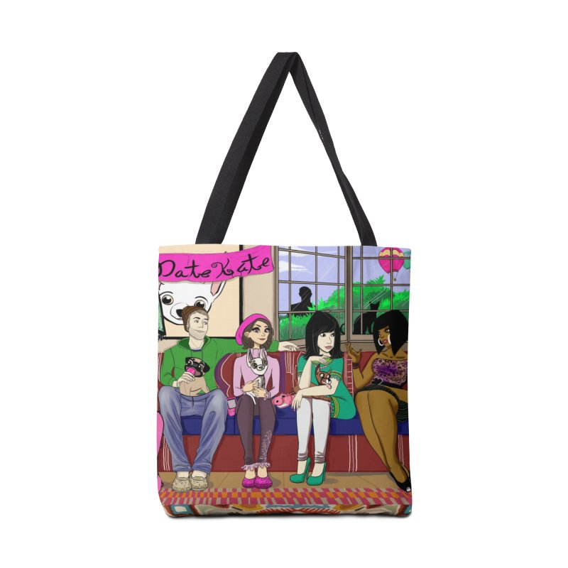 Bad Date Kate Animated Series Accessories Bag by Bad Date Kate's Artist Shop