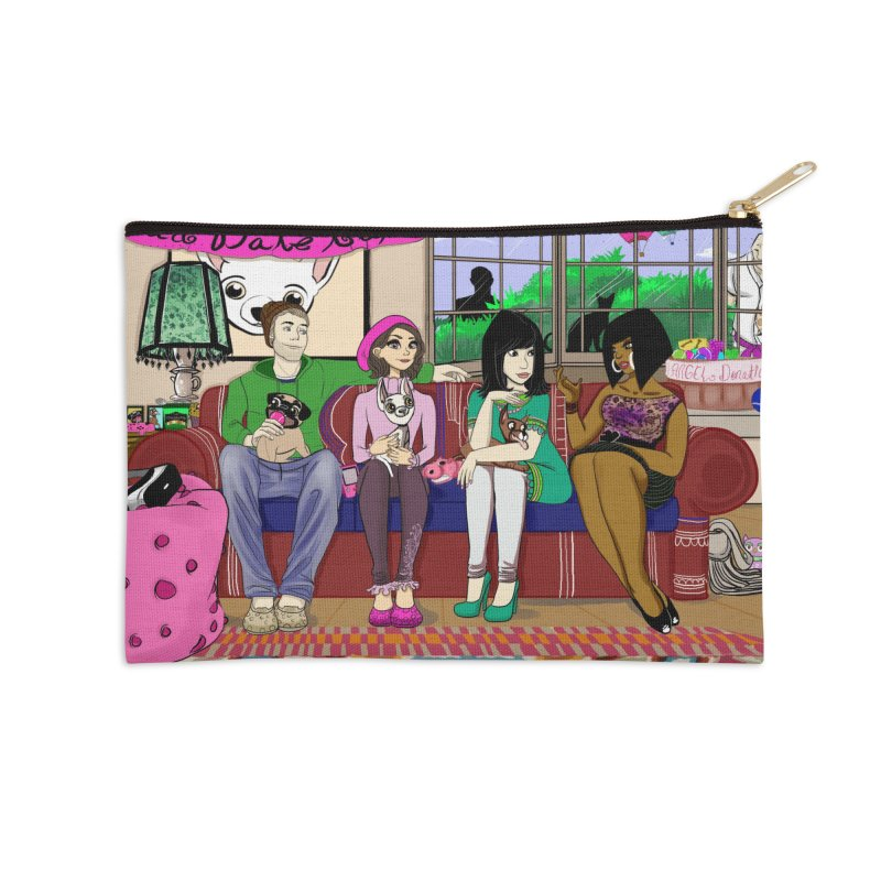 Bad Date Kate Animated Series Accessories Zip Pouch by Bad Date Kate's Artist Shop