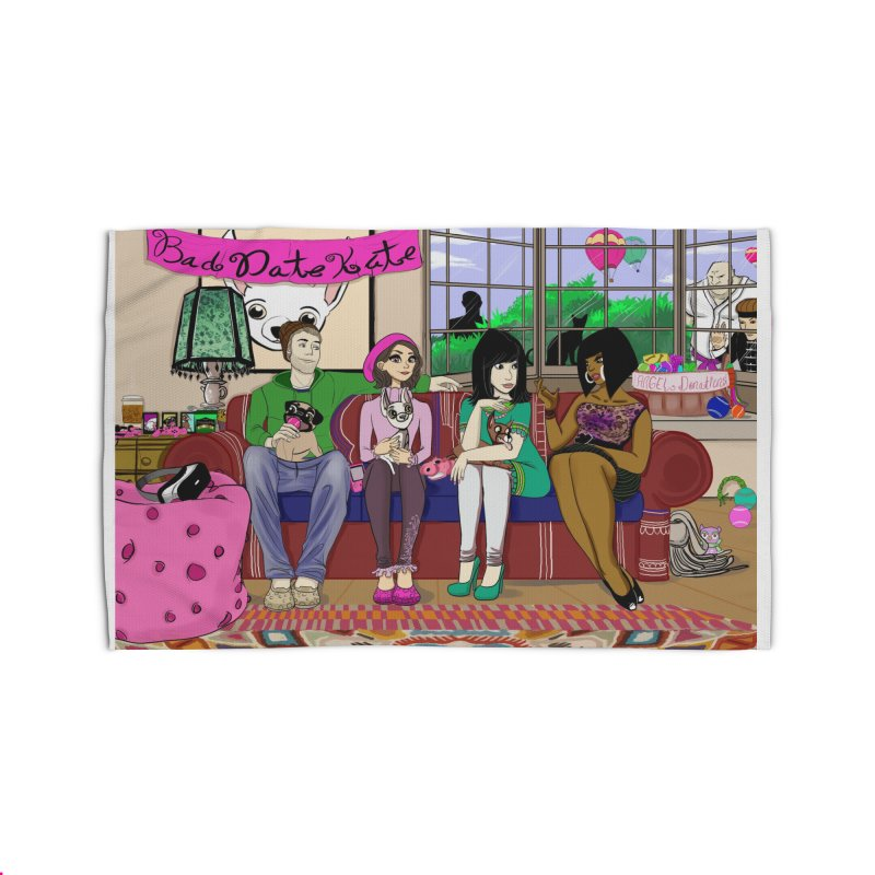 Bad Date Kate Animated Series Home Rug by Bad Date Kate's Artist Shop