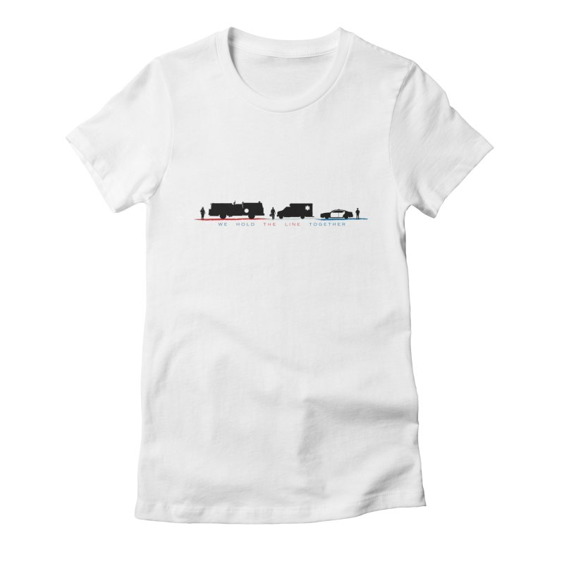 HoldTheLine_2020 Women's T-Shirt by MN Fire Dogs