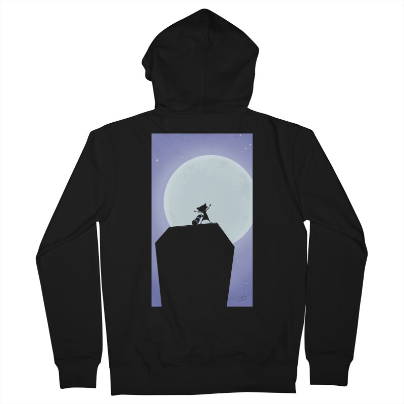 Saint Paul Raccoon 2018 Men's French Terry Zip-Up Hoody by MN Fire Dogs
