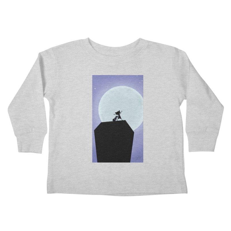 Saint Paul Raccoon 2018 Kids Toddler Longsleeve T-Shirt by MN Fire Dogs
