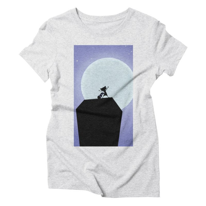 Saint Paul Raccoon 2018 Women's Triblend T-Shirt by MN Fire Dogs
