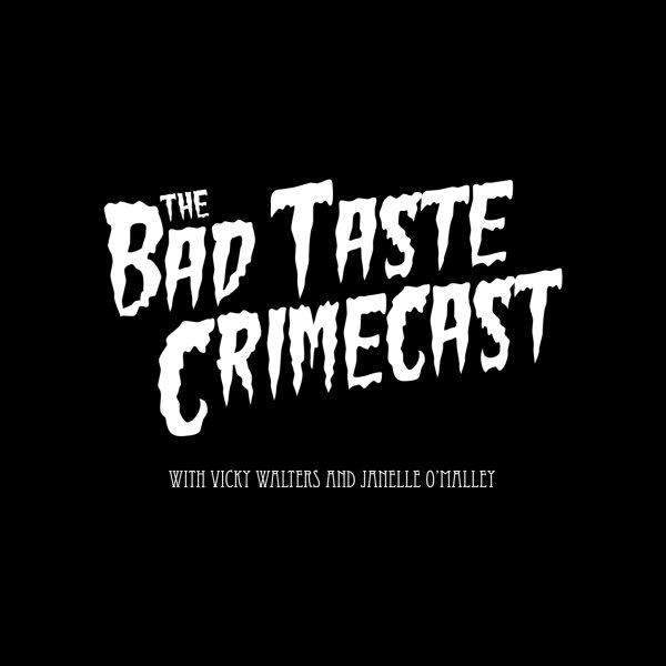 image for The Bad Taste Crimecast Logo White