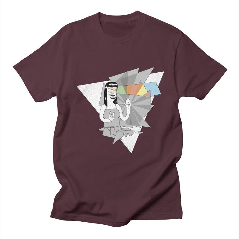 Smiles! Men's Regular T-Shirt by Bahrnone's Artist Shop