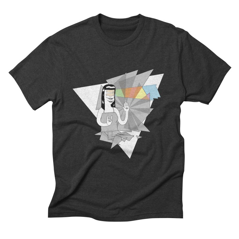 Smiles! Men's Triblend T-shirt by Bahrnone's Artist Shop