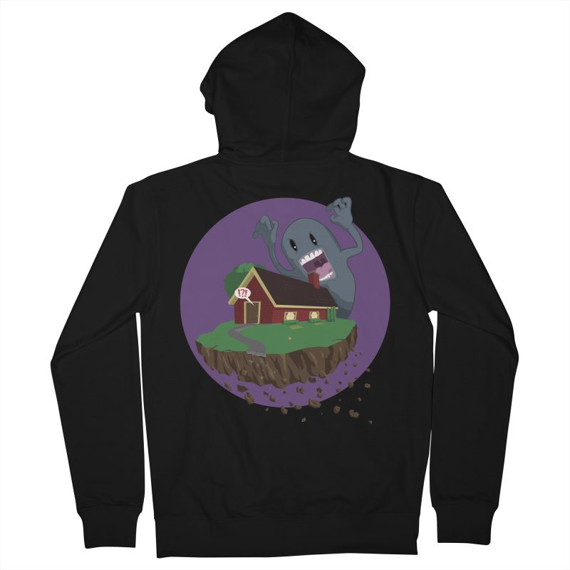 Who's There?!? Women's French Terry Zip-Up Hoody by Bahrnone's Artist Shop