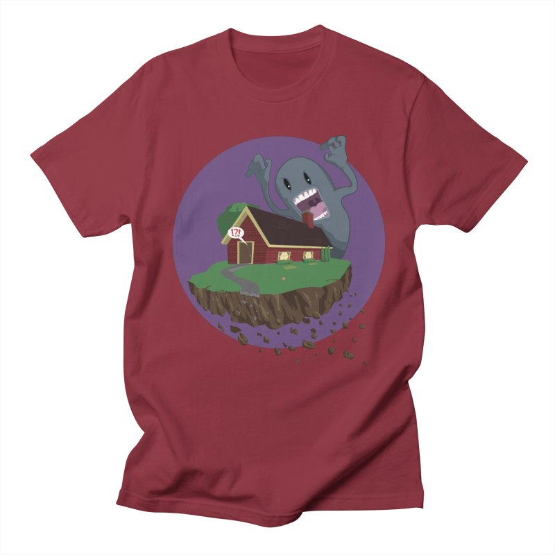 Who's There?!? Men's Regular T-Shirt by Bahrnone's Artist Shop