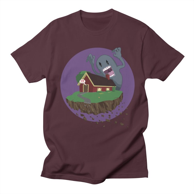 Who's There?!? Men's T-Shirt by Bahrnone's Artist Shop