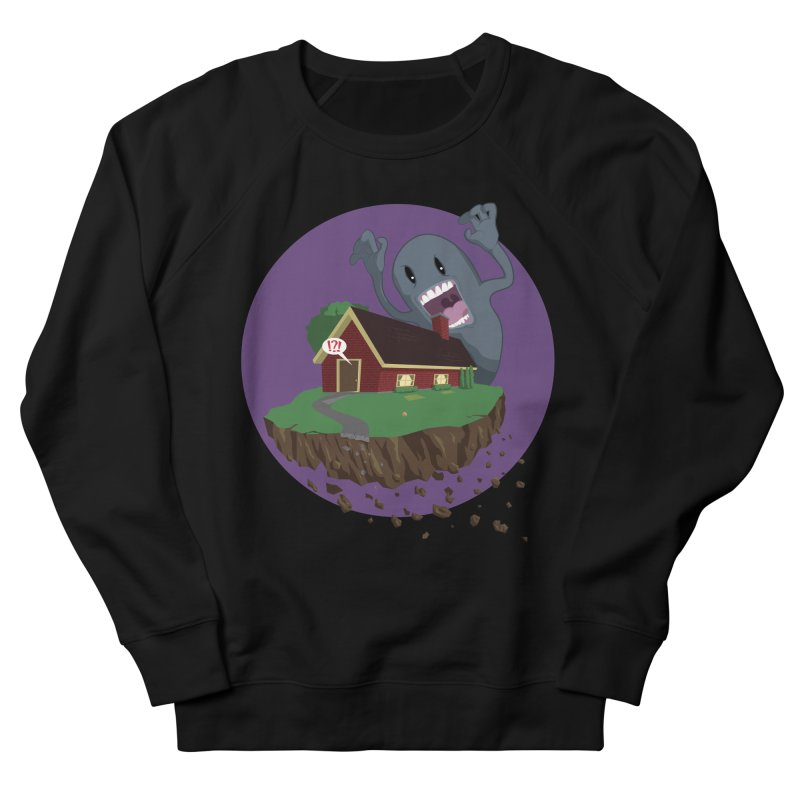 Who's There?!? Women's French Terry Sweatshirt by Bahrnone's Artist Shop