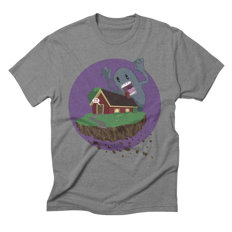 Who's There?!? Men's Triblend T-Shirt by Bahrnone's Artist Shop