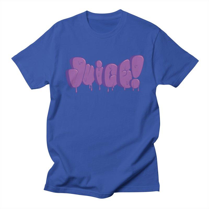 Juice! Men's Regular T-Shirt by Bahrnone's Artist Shop