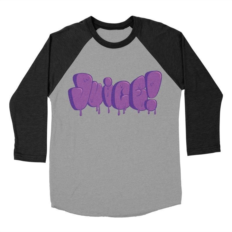 Juice! Men's Baseball Triblend T-Shirt by Bahrnone's Artist Shop