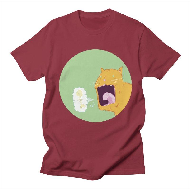 Cat Breath Men's T-Shirt by Bahrnone's Artist Shop
