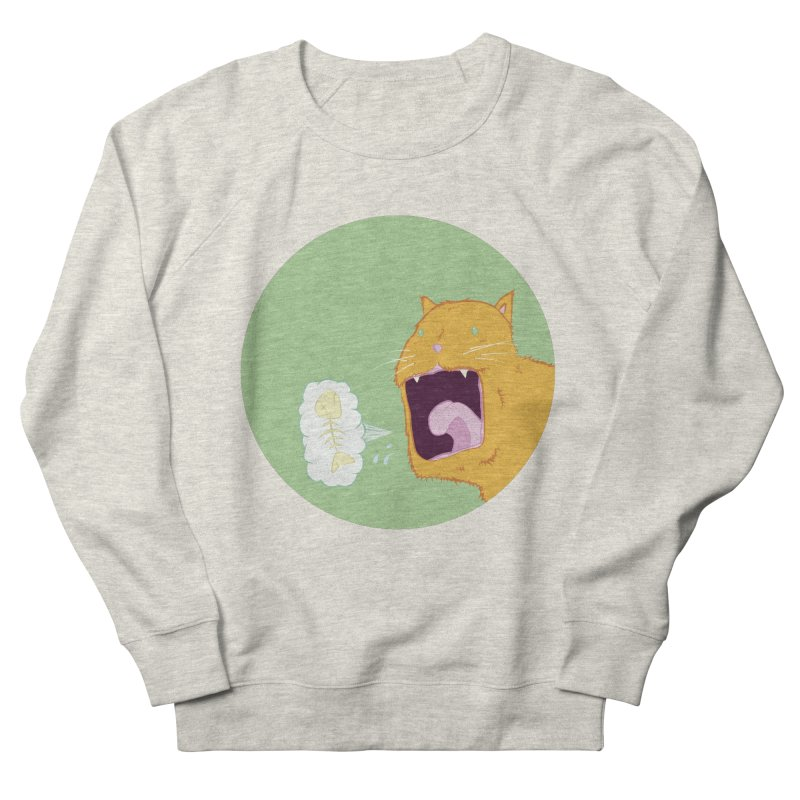 Cat Breath Women's French Terry Sweatshirt by Bahrnone's Artist Shop