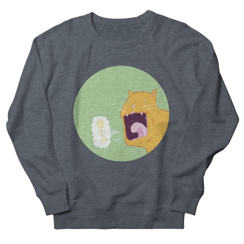 Cat Breath Men's Sweatshirt by Bahrnone's Artist Shop
