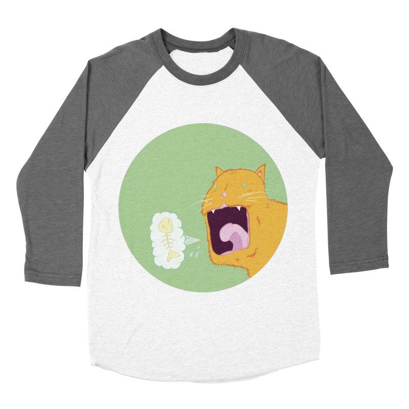 Cat Breath Women's Longsleeve T-Shirt by Bahrnone's Artist Shop