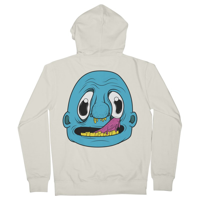 Shlurp! Men's Zip-Up Hoody by Bahrnone's Artist Shop
