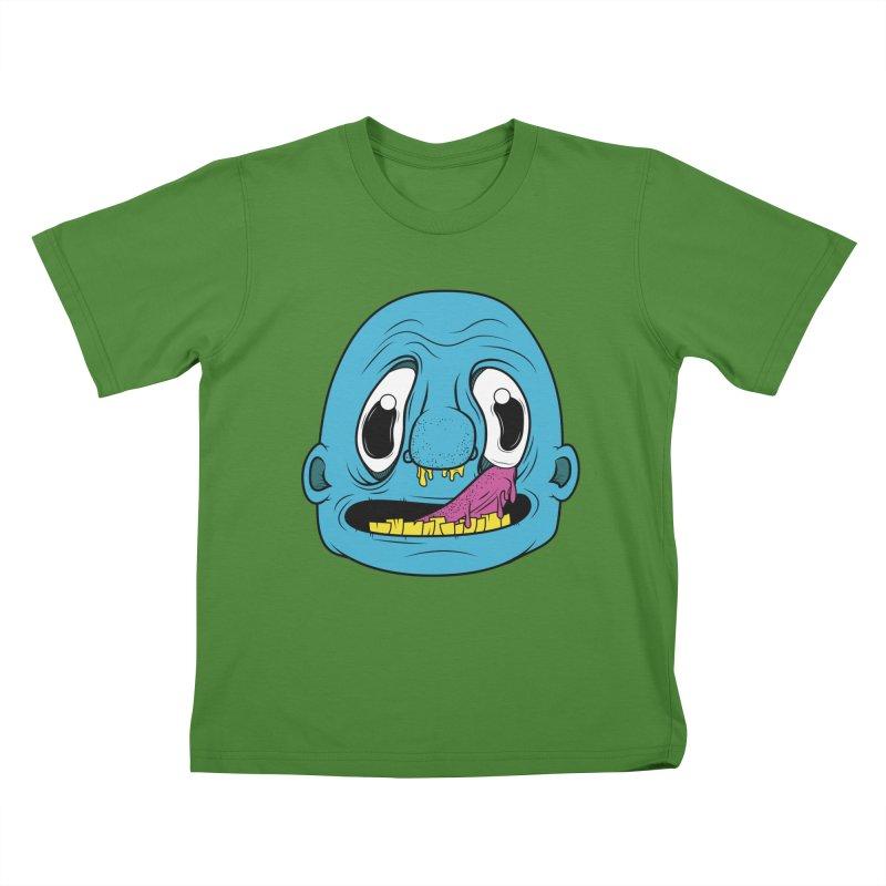 Shlurp! Kids T-shirt by Bahrnone's Artist Shop
