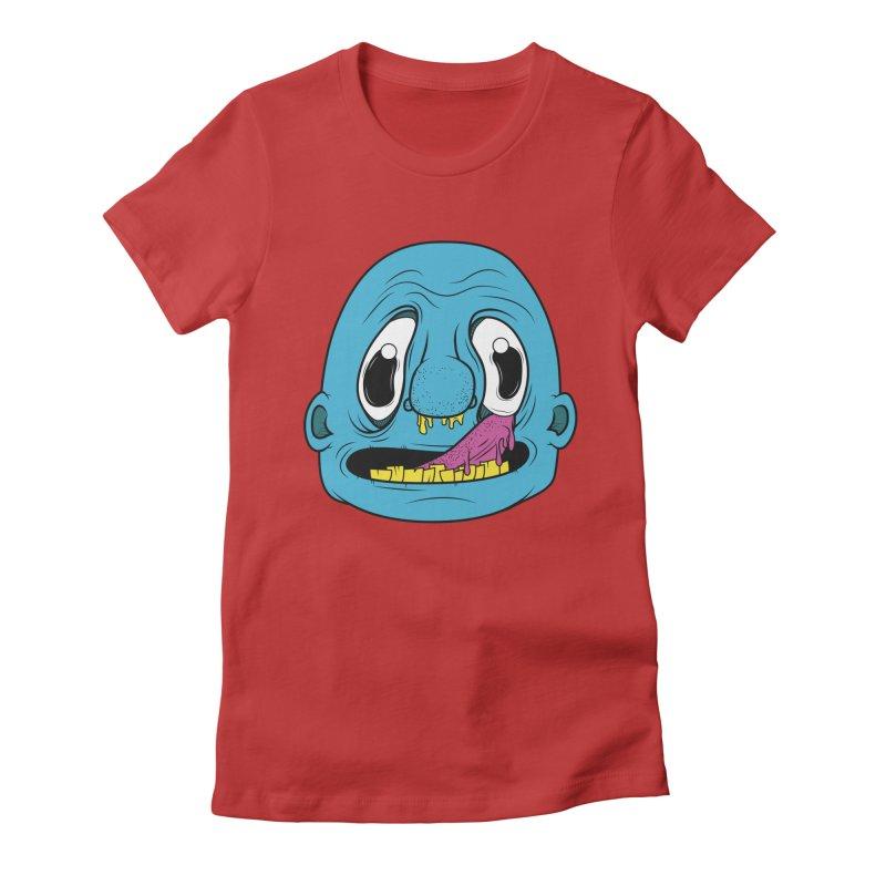 Shlurp! Women's Fitted T-Shirt by Bahrnone's Artist Shop