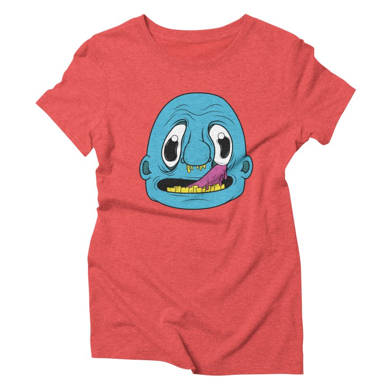 Shlurp! Women's Triblend T-Shirt by Bahrnone's Artist Shop