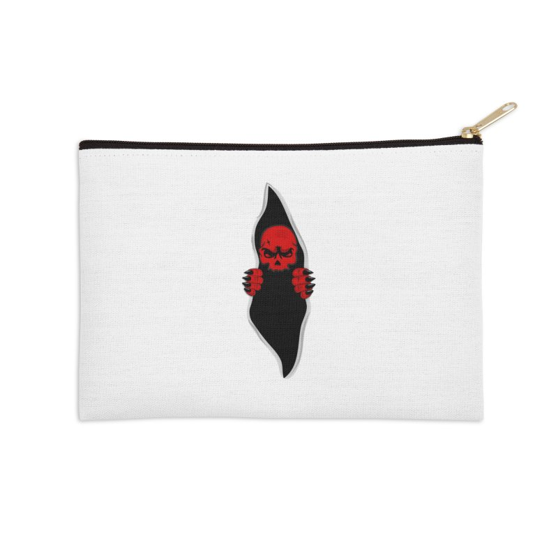 Demon  Accessories Zip Pouch by BalanLevin's Artist Shop