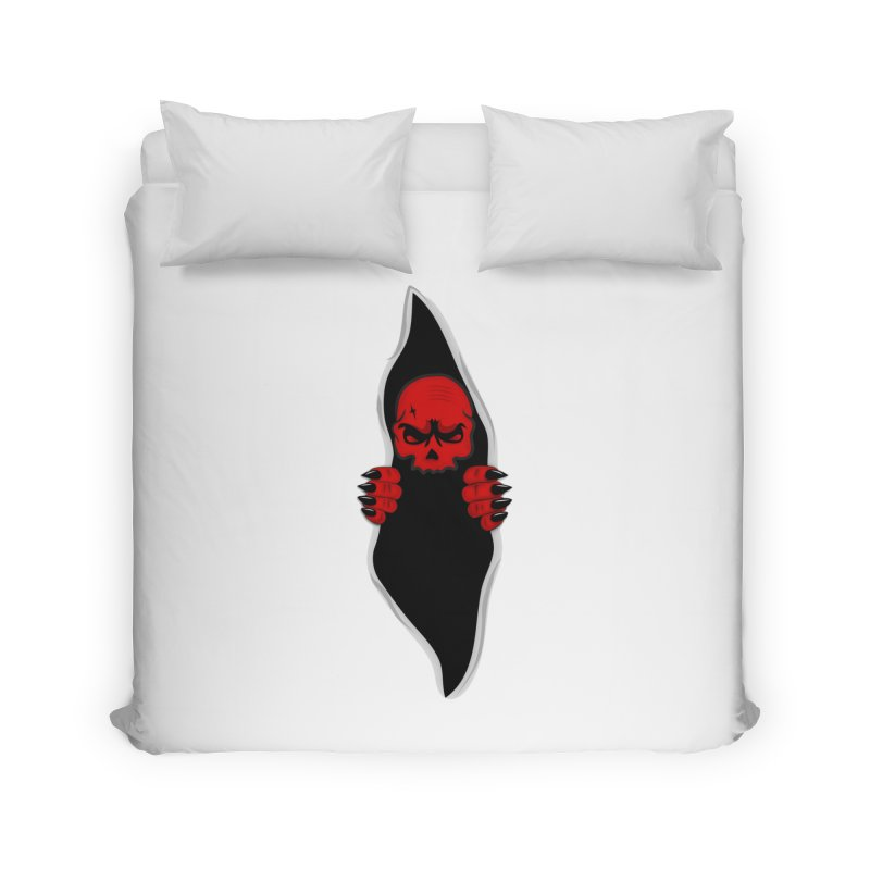 Demon  Home Duvet by BalanLevin's Artist Shop