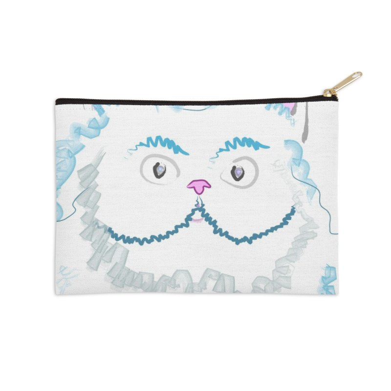 Cat is my BF Accessories Zip Pouch by BalanLevin's Artist Shop